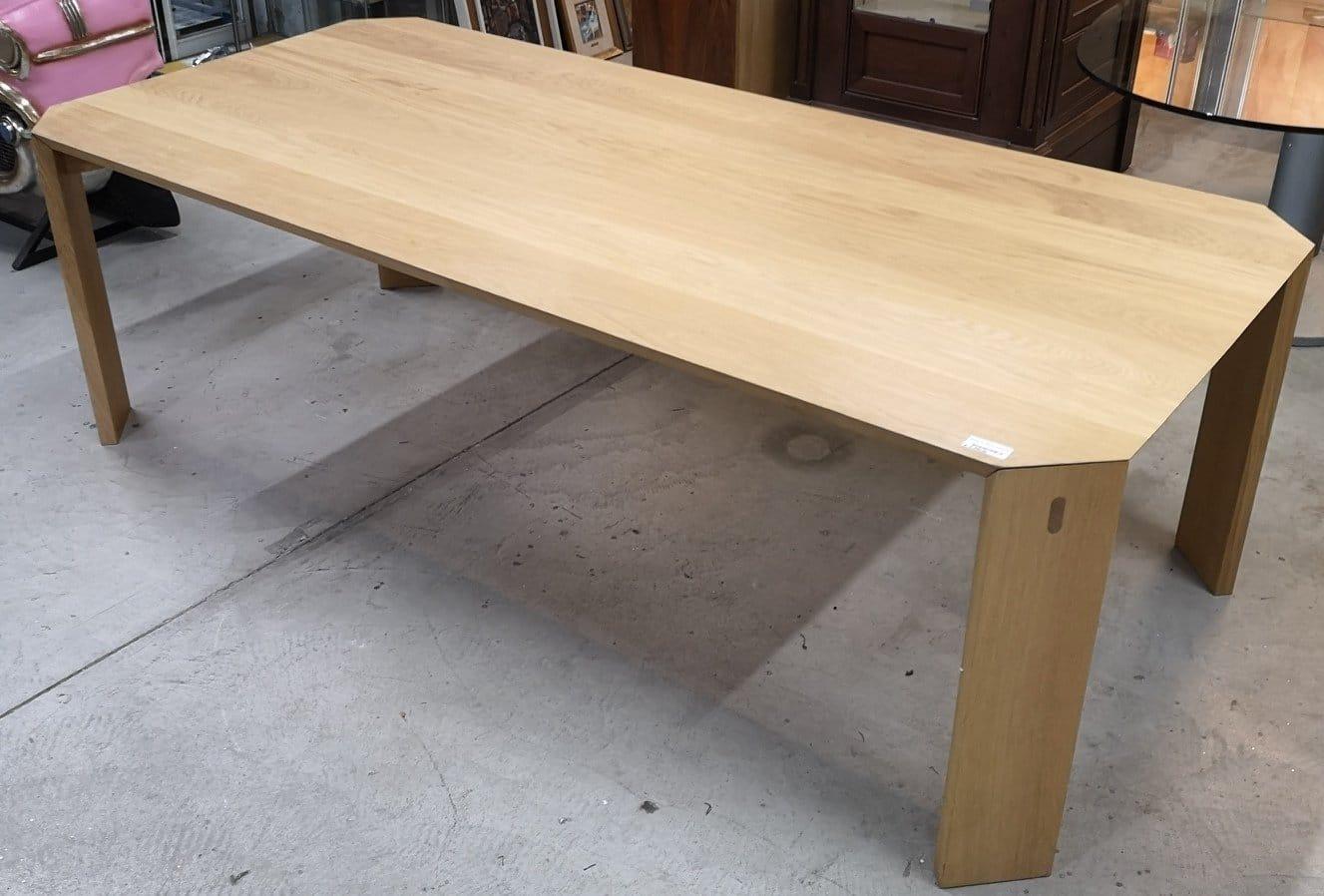 tavolo in rovere naturale - nientedinuovo